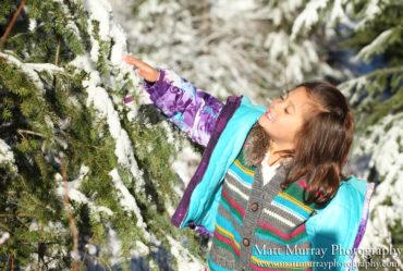 Whistler Winter Season Family Portraits