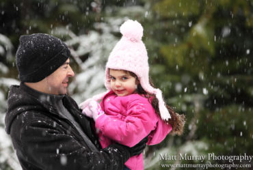 Winter Snow Family Portraits In Whistler