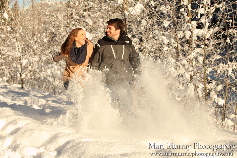 Whistler Engagement Proposal Snow