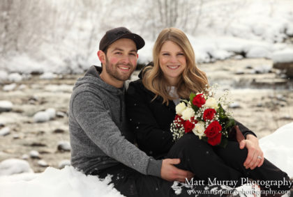 Whistler Engagement Winter Snow