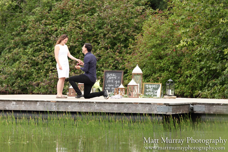Whistler Nita Lake Engagement Proposal