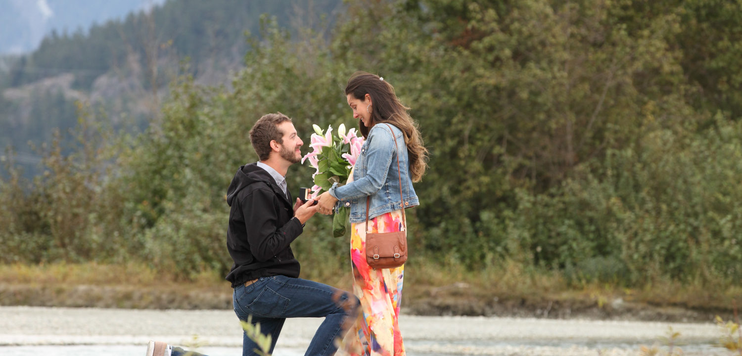 Nicklaus North Whistler Engagement Proposal