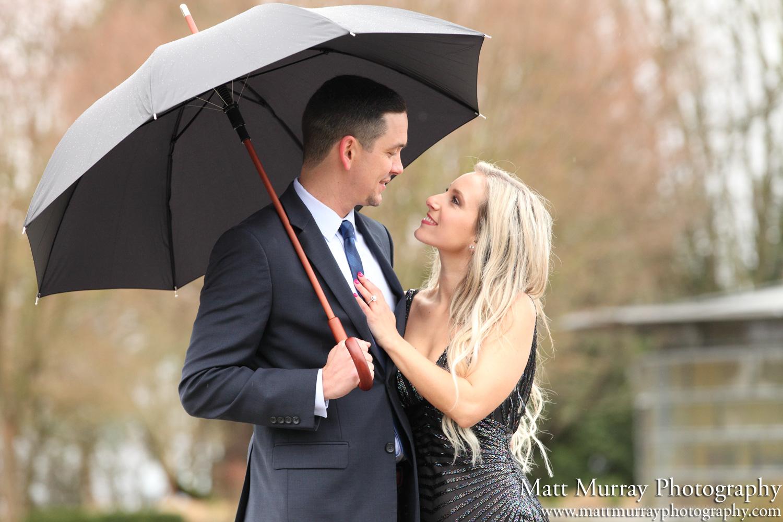 Vancouver Queen Elizabeth Park Engagement Photography