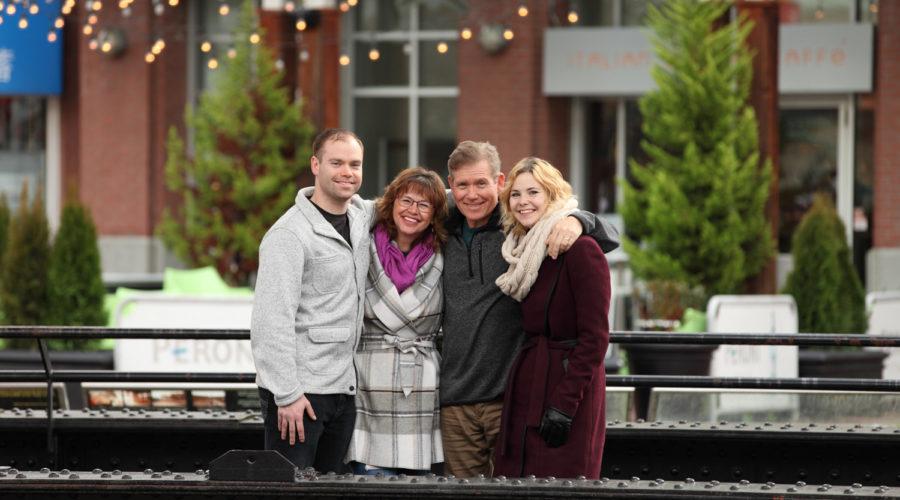 Vancouver Family Reunion Portrait Photography Service